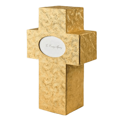 Cross Biodegradable Cremation Urn