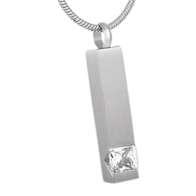 Crystal Pet Cremation Pendant