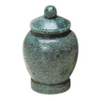 Green Jar Pet Urn