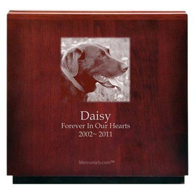 Multi Dog Wood Cremation Urn
