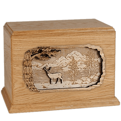 Deer Oak Companion Urn