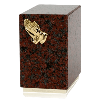Dignity African Red Granite Cremation Urn