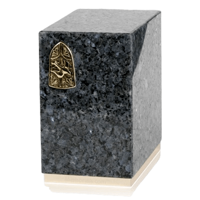 Dignity Blue Pearl Granite Cremation Urns