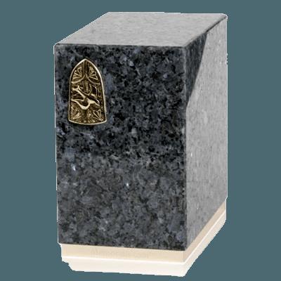 Dignity Blue Pearl Granite Cremation Urns