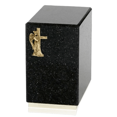 Dignity Cambrian Black Granite Cremation Urn