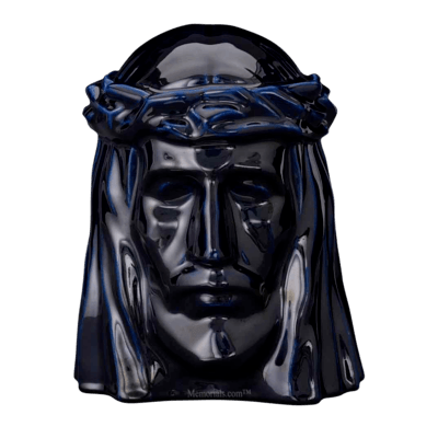 Christ Cobalt Cremation Urns