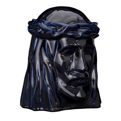 Christ Cobalt Cremation Urn