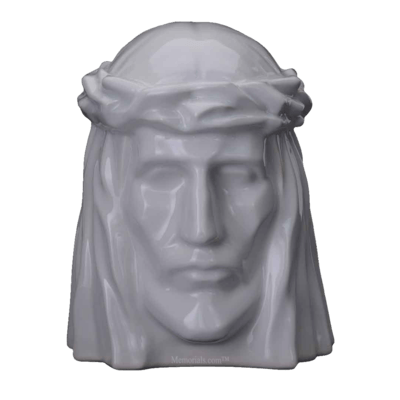 Christ White Cremation Urns