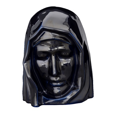 Holy Mother Cobalt Cremation Urns