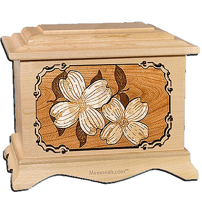 Dogwood Maple Cremation Urn for Two