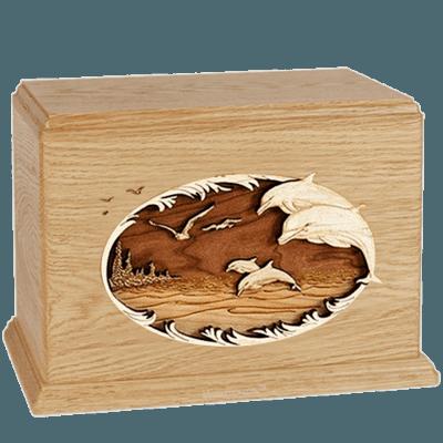 Dolphin Maple Companion Urn