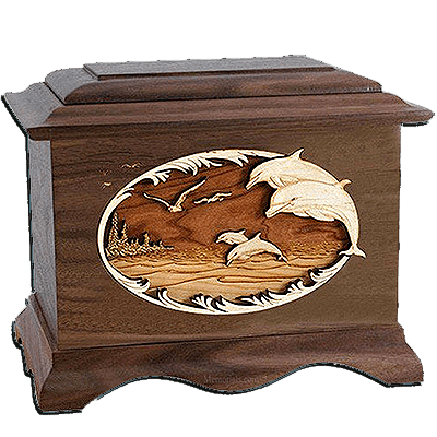 Dolphin Cremation Urns For Two