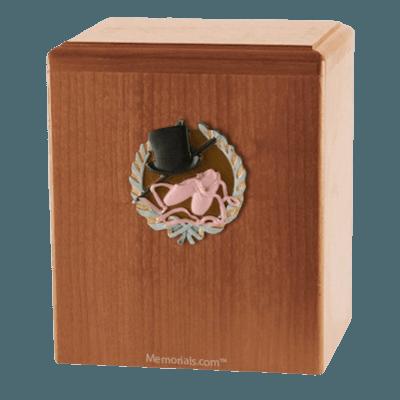 Dance Light Cherry Cremation Urn