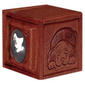 Dark Medium Dog & Cat Cremation Urn