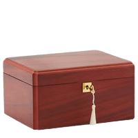 Davis Wood Cremation Urn
