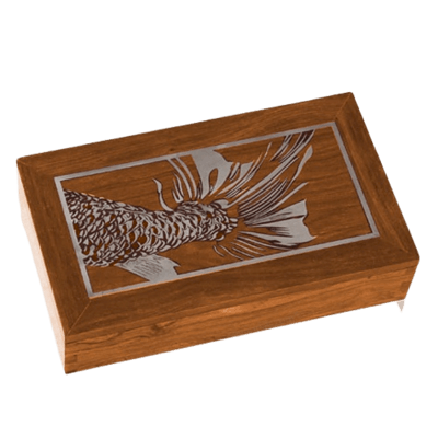 Pesca Wood Cremation Urns
