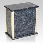 Designer Blue Pearl Granite Cremation Urn