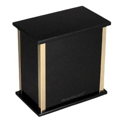 Designer Nero Granite Cremation Urns