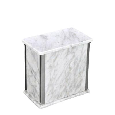 Designer Silver Bianco Medium Urn