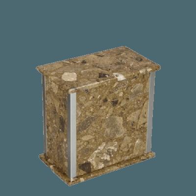 Designer Silver Rosatica Medium Urn