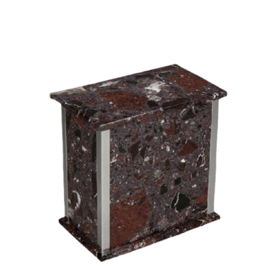 Designer Silver Rosso Levanto Medium Urn