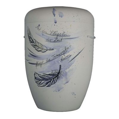Feather In The Wind Biodegradable Urn