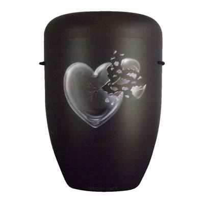 Shattered Heart Biodegradable Urn