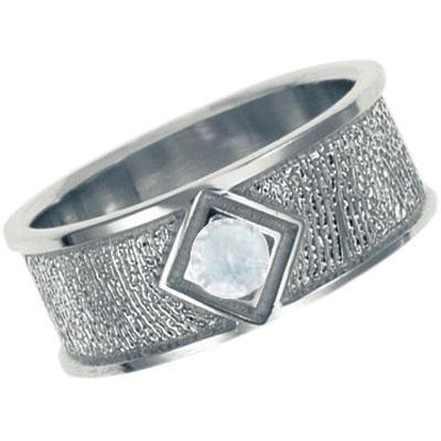 Diamond 14k White Gold Ring Print Keepsake
