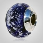 Dignity Blue Cremation Ash Bead
