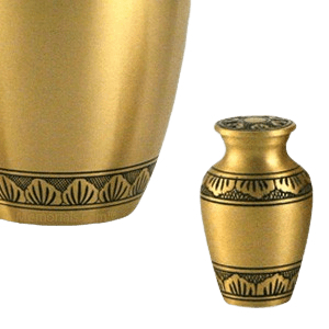Dignity Bronze Keepsake Cremation Urn