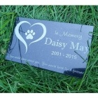 Dignity Granite Pet Grave Marker