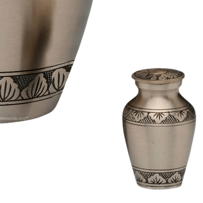 Dignity Pewter Keepsake Cremation Urn