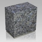 Dignity Silver Blue Pearl Granite Cremation Urns