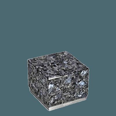 Dignity Silver Blue Pearl Medium Urn