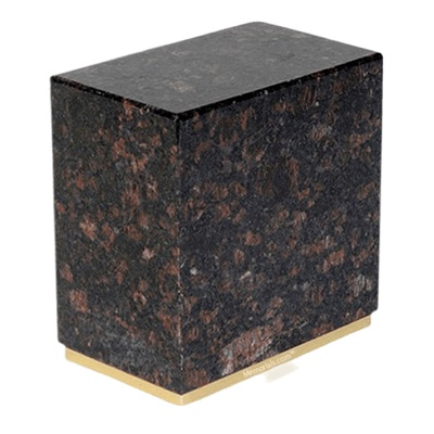 Dignity Tan Brown Granite Cremation Urns