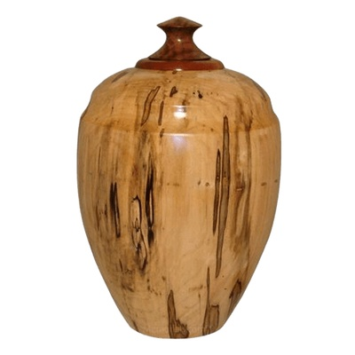 Dignity Wood Cremation Urn