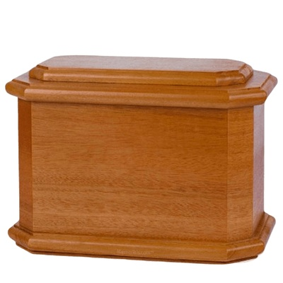 Diplomat Wood Cremation Urn IV