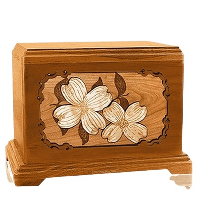 Dogwood Mahogany Hampton Cremation Urn