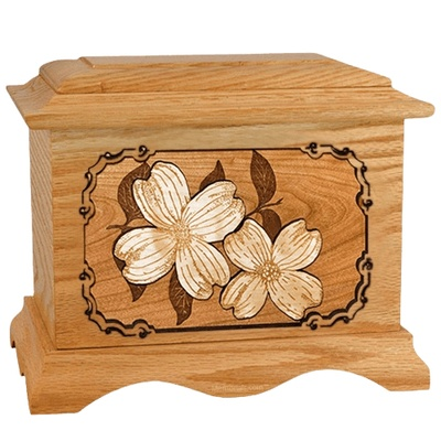 Dogwood Oak Cremation Urn