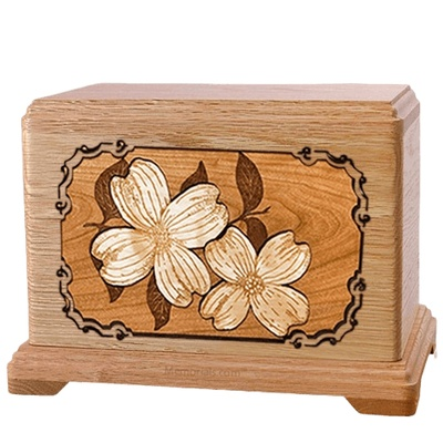 Dogwood Oak Hampton Cremation Urn