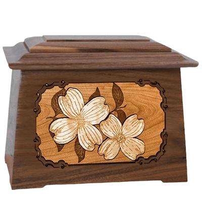 Dogwood Walnut Aristocrat Cremation Urn