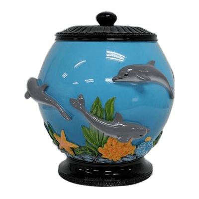 Dolphins Cremation Urn