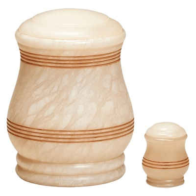 Doric Stone Cremation Urns