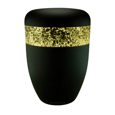 Speckled Gold Biodegradable Urn