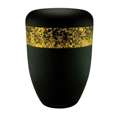 Dreamers Black Gold Biodegradable Urn