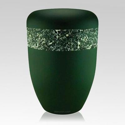 Emerald Green Biodegradable Urn