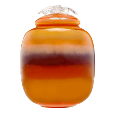 Dusk Glass Cremation Urn