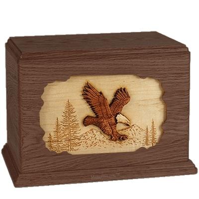 Eagle Walnut Companion Urn