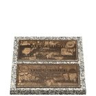 Double Deep Bronze Expression Double Grave Marker
