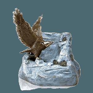 Eagle Bronze Cremation Urn